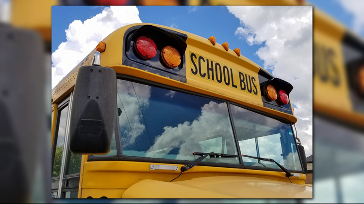 3 students, school bus driver hospitalized after crash at Fort Leonard Wood