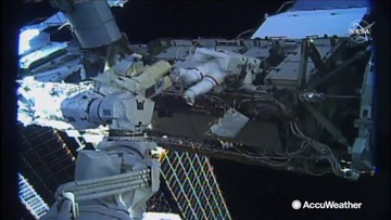The goals and surprises of the first all-women space walk