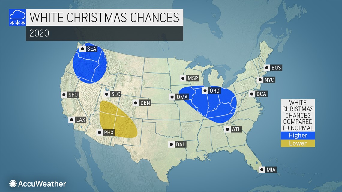 White Christmas Predictions St Louis 2020 White Christmas forecast: the holiday is six weeks away, will