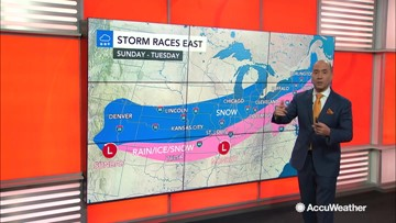 Bernie Rayno breaks down the next snowstorm that will sweep across the nation