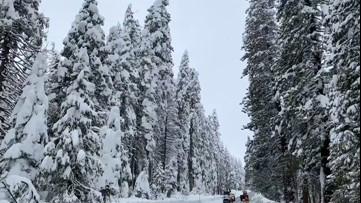 Sierra snowpack is below average in early spring