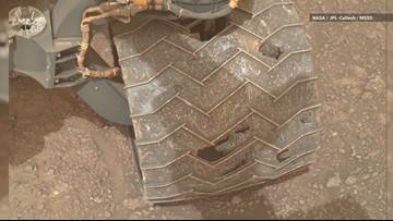 Mars Wear and Tear: Curiosity Snaps New Photos of Wheel Damage