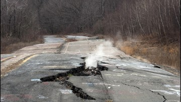 Hell On Earth? A Fire Has Been Blazing Beneath This Town For Almost 60 Years