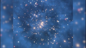 'Ghostly' Ring of Dark Matter Spotted by Hubble