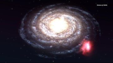 A Massive Cloud is on a 700,000 mph Collision Course with the Milky Way