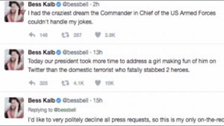 Trump 'Blocks' Jimmy Kimmel Live Writer on Twitter | ksdk com