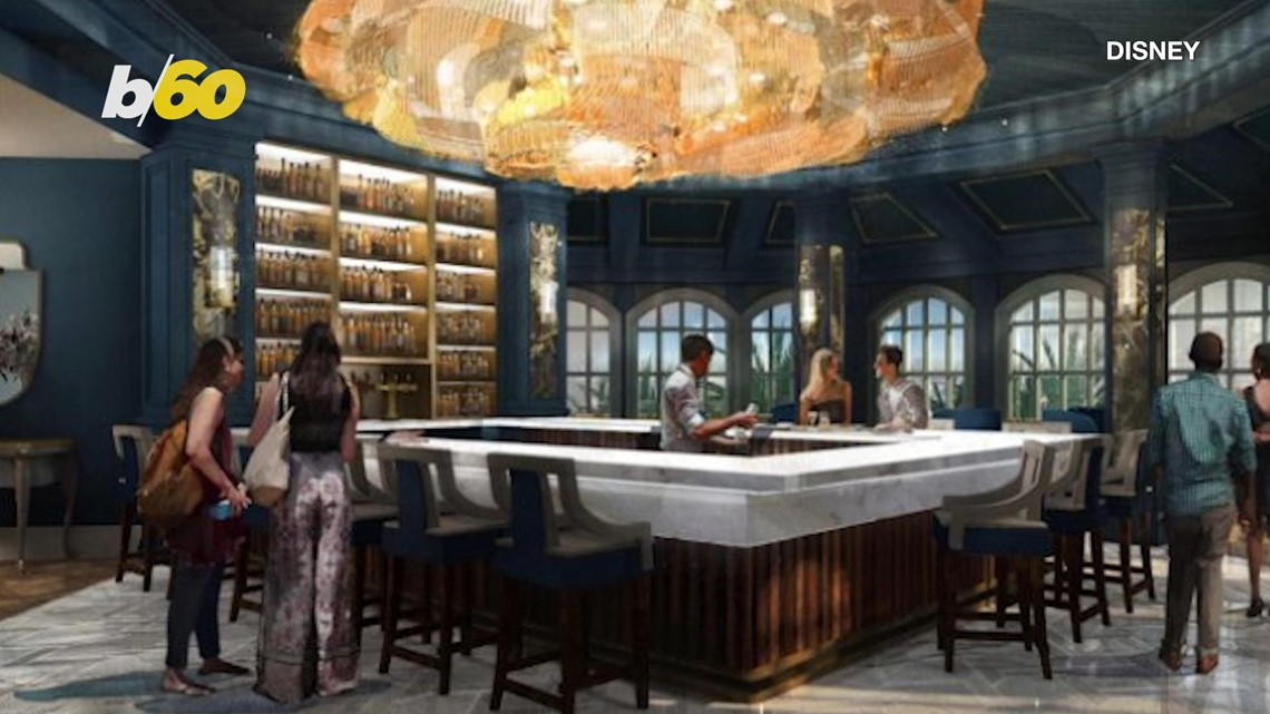 A 'Beauty and the Beast'-Inspired Bar and Lounge Is Coming Soon!