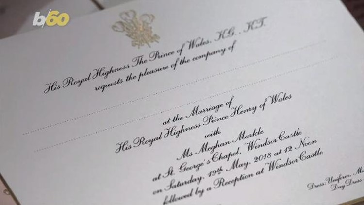 Prince harry and meghan markles wedding invites have been sent out prince harry and meghan markles wedding invites have been sent out stopboris Image collections