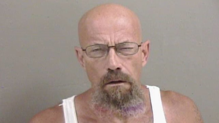 Walter White lookalike suspect