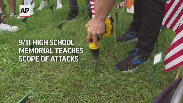 9/11 High school memorial teaches scope of attacks
