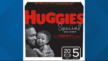 Huggies puts dads on its diaper boxes for first time