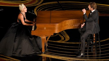 The world stopped while Lady Gaga and Bradley Cooper performed 'Shallow' at the Oscars