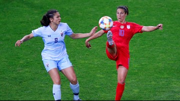 Carli Lloyd reaches out to Thai goalkeeper after World Cup blowout