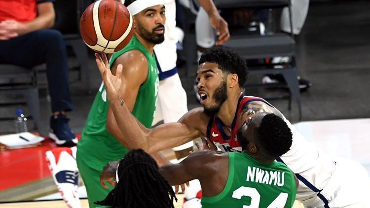 Shocker: US falls to Nigeria 90-87 in pre-Olympic opener