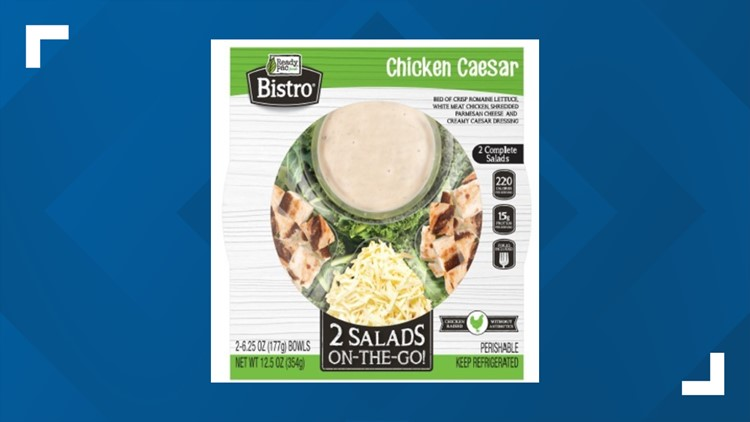 Ready Pac Bistro Chicken Caesar Salad recalled