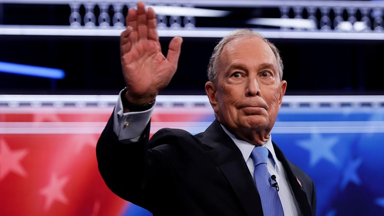 Michael Bloomberg first Election 2020 Debate AP