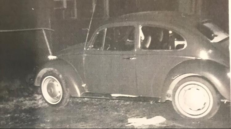 Debbie Lynn spilled box of detergent was found next to this car