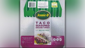 Jennie-O recalls 91,388 pounds of raw ground turkey amid salmonella outbreak
