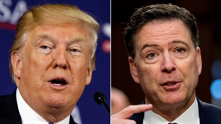 Scenes From An Investigation Comey Firing