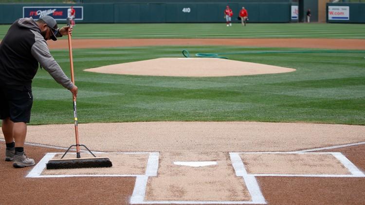Reds Rockies Spring Baseball AP stadium MLB