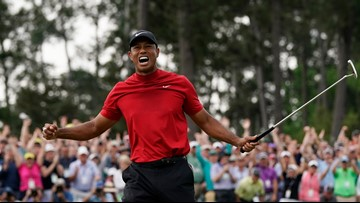 Tiger Woods caps comeback with 5th Masters win, 15th major title