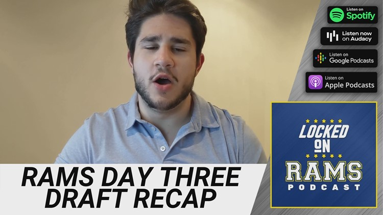 Reaction: The Los Angeles Rams recap day three of the NFL Draft