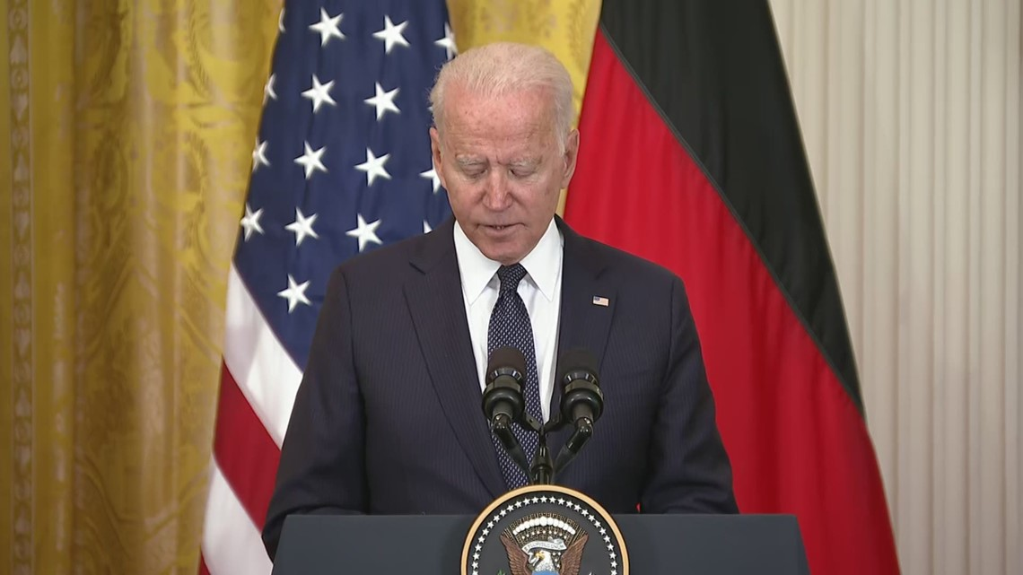 Biden supports continued partnership with Germany
