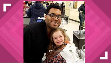 Little girl with special needs who loves to bag groceries gets her dream 'job'