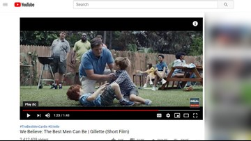 New Gillette ad skips shaving, focuses on curbing toxic masculinity