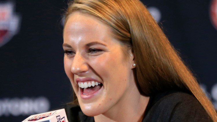 Olympic swimming great Missy Franklin announces pregnancy