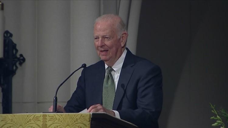James Baker pays tribute to friend, George H.W. Bush