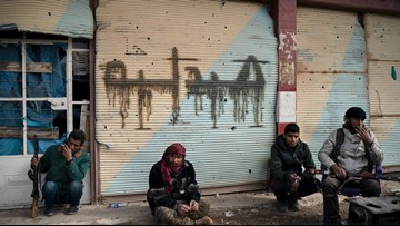 'Taking their last breath': IS hides among Syrian civilians