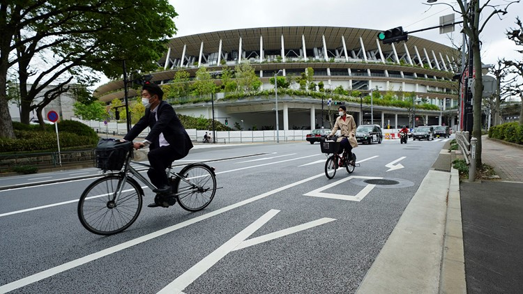 Things starting to stir at Tokyo Olympic venues