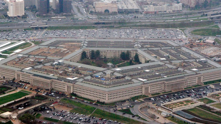 Pentagon file aerial photo March 2008