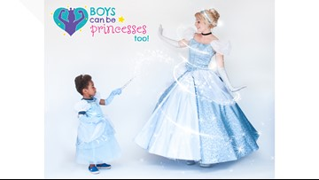 Why this former princess performer encourages boys to dress up as princesses