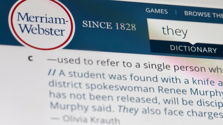 Word of the Year-Merriam-Webster They 2019