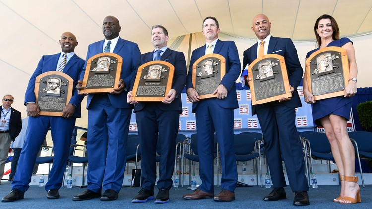 Mariano Rivera closes Hall of Fame induction ceremony