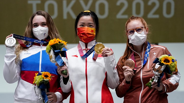 The first Tokyo Olympics gold medal has been awarded