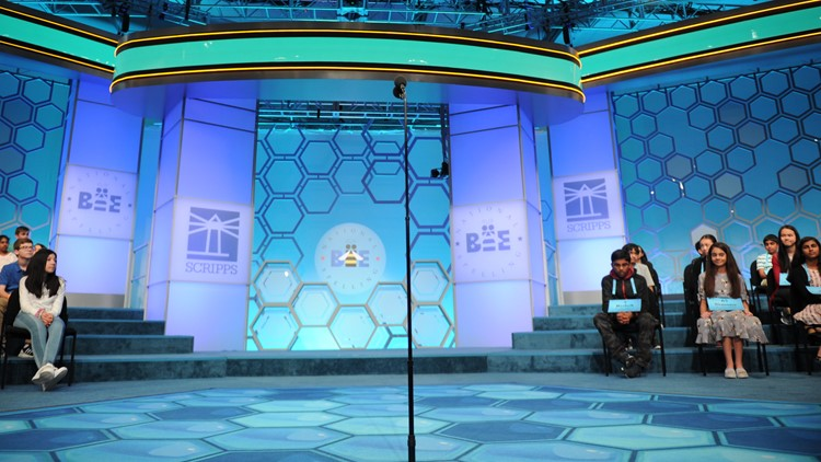 Scripps Spelling Bee stage