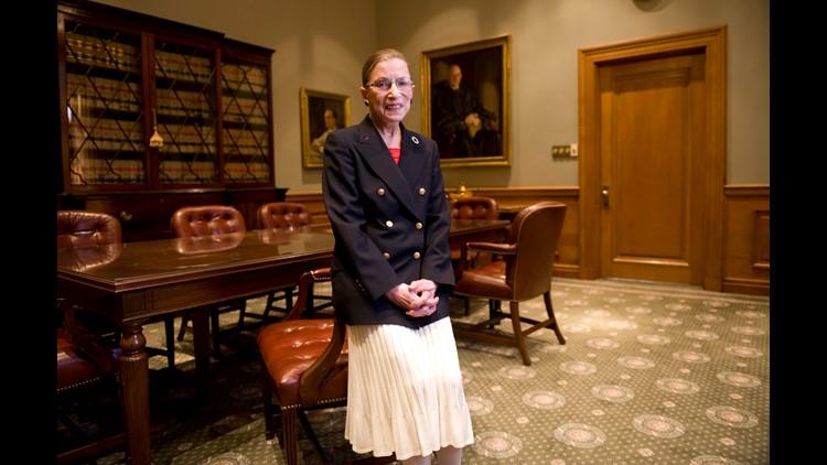 Usp News Ruth Bader Ginsburg