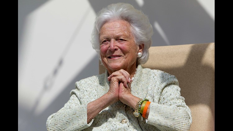 Barbara Bush's funeral, meteor showers and the biggest news to start your weekend.