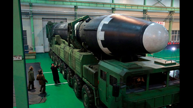 Spy agencies suspect North Korea building new missiles