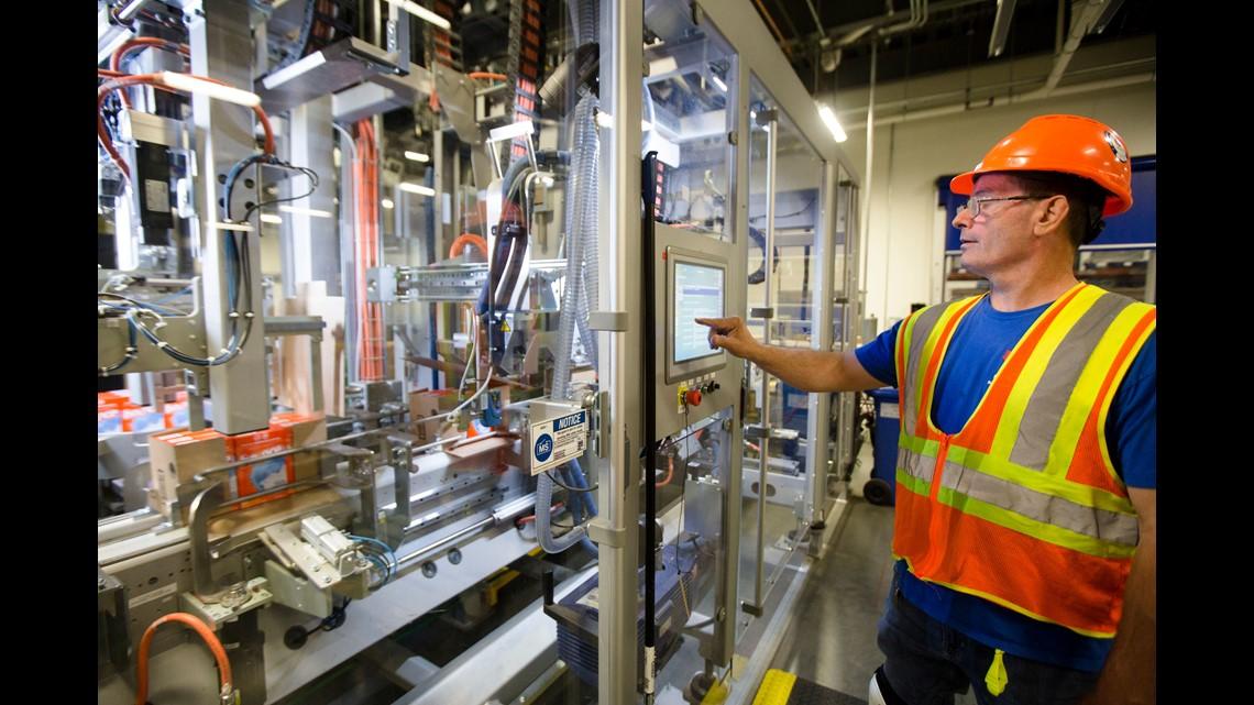 A look inside P&G's new factory | ksdk com