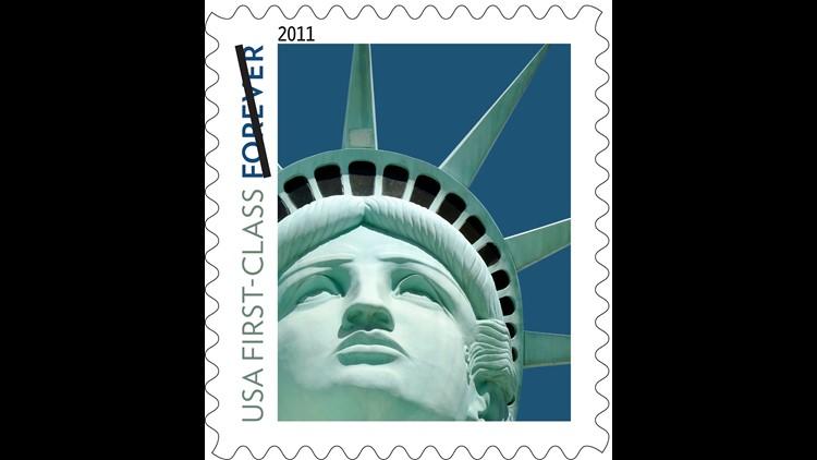 AP LADY LIBERTY STAMP LAWSUIT A FILE USA