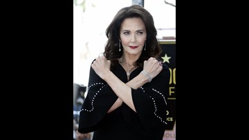 Wonder Woman' Lynda Carter gets Hollywood star | ksdk com