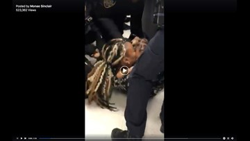 Charges dropped against mother after police rip 1-year-old son from her arms in video