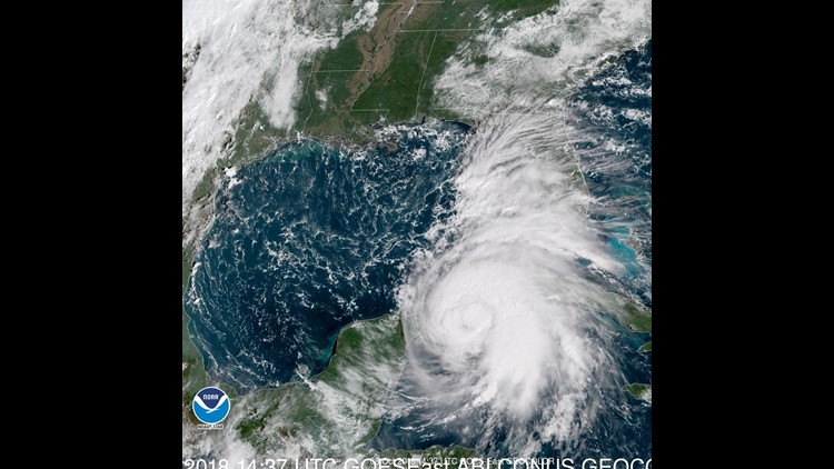 Michael expected to gain hurricane strength as it approaches Florida