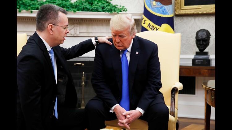 Ap Aptopix Trump American Pastor A Usa Dc