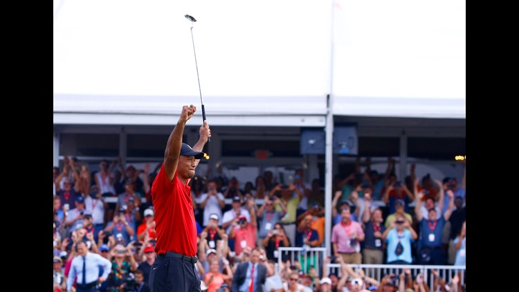Tiger turns back the clock