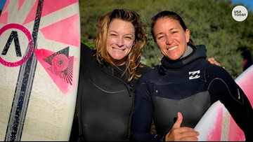 Women surfers finally score equal pay for equal waves